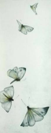 Mikio Watanabe. Le vent de printemps. 2006. Manière noire.