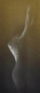 Mikio Watanabe. Sublimation. 2014. Manière noire.