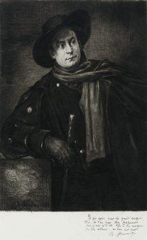 Marcellin Desboutin - Aristide Bruant (chansonnier)
