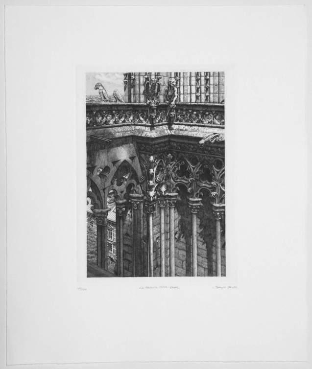 Takuji Kubo - La galerie Notre Dame - Recto