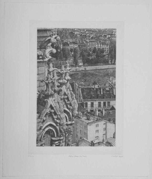 Takuji Kubo - Notre Dame de Paris - Recto