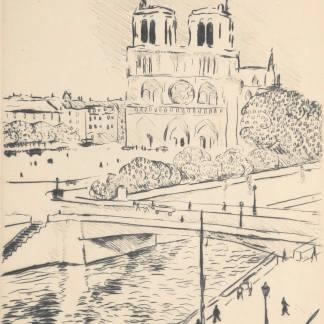 Albert Marquet - Notre Dame et le pont Saint Michel