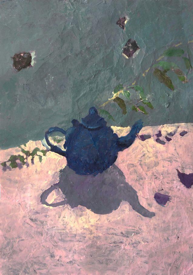 Maïlys Seydoux Dumas - La théière bleue