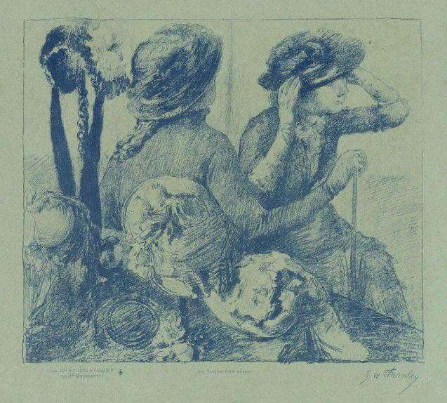 Georges William Thornley - Quinze lithographies d'après Degas - planche 7