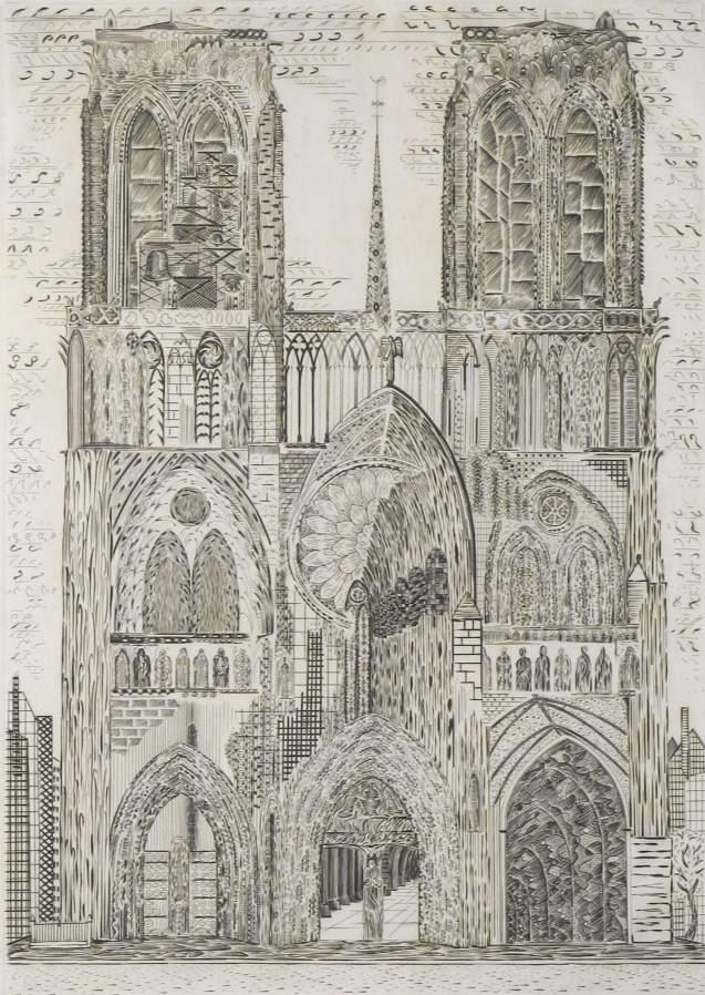 Roger Vieillard - La cathédrale