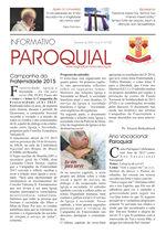 Informativo Paroquial - Fevereiro/2015