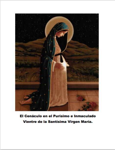 Cenáculo no Puríssimo e Imaculado Ventre da Santíssima Virgem Maria