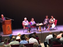 Jessica joined by other scholars at off-site discussion addressing John Blassingame.