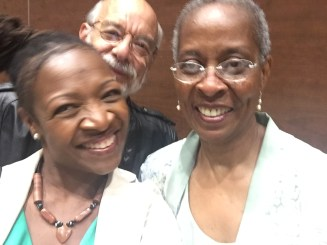 Selfie with Beeler and the great Dr. Trudier Harris. She will kill me later for posting these.