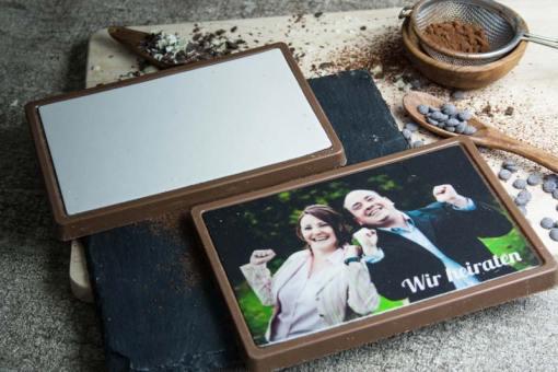 Schoko-Marzipan-Tafel - Ich liebe dich