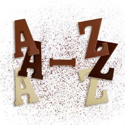 Großbuchstaben A – Z