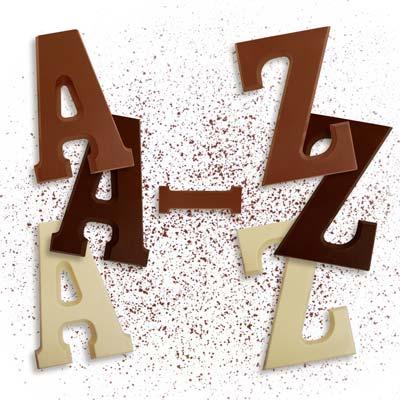 Riesenbuchstaben A - Z