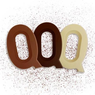 Riesen Schoko-Buchstabe Q (175g)