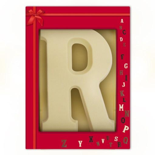 Riesen Schoko-Buchstabe R (175g)
