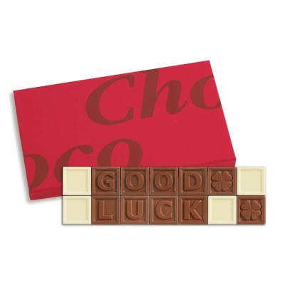 14er-Schoko-SMS - Good luck