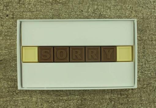 7er-Schoko-SMS - Sorry