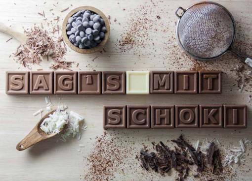 60er Schoko-SMS - Alles ist gut wenn es aus Schokolade ist!