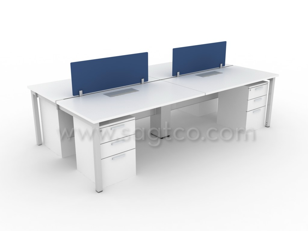 office desk dividers. Office Devider. Ofd_sagtco_wks--pangea-510--office_workstations_dubai_office_partitions_dubai--cluster_of_4_linear Desk Dividers