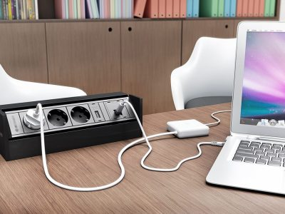office furniture cable power management, table cable box, office built in power box, power pole, wire flip box, power module, workstation build-in power