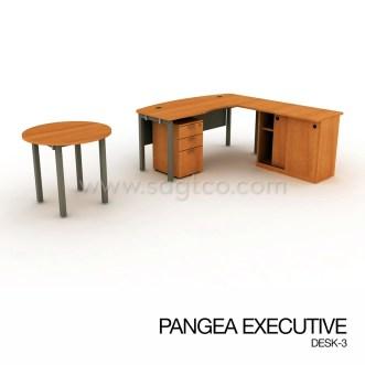 PANGEA EXECUTIVE DESK-3--OFD-EX-097