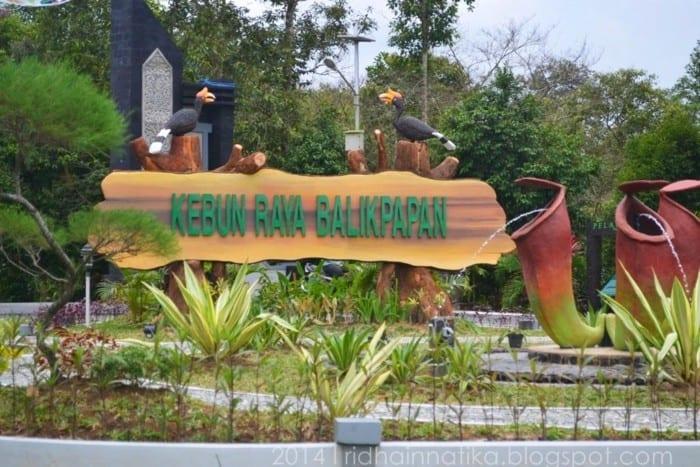 Wisata Balikpapan Kebun Raya Balikpapan