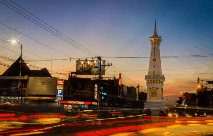 Kota Termaju, Terbaik, Terbersih, Terindah Jogjakarta