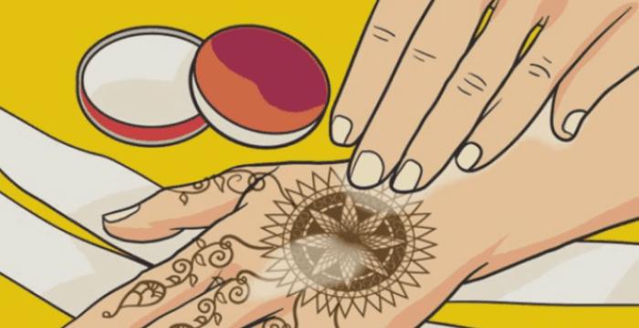 Cara Bikin Henna di Tangan