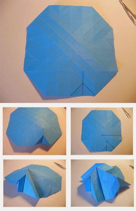 Cara Melipat Kertas Origami