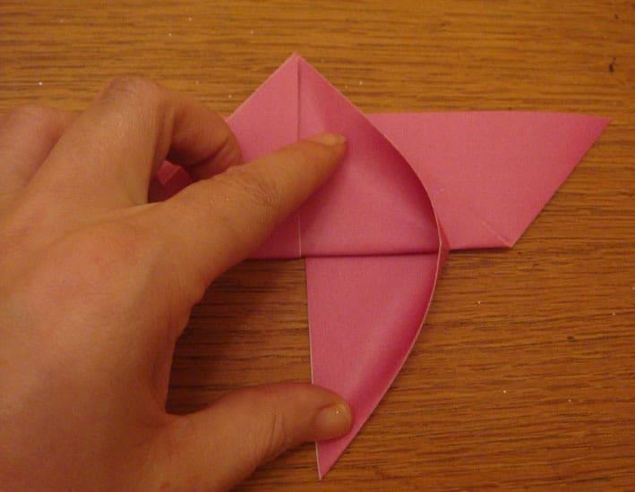 Origami Bunga Mawar