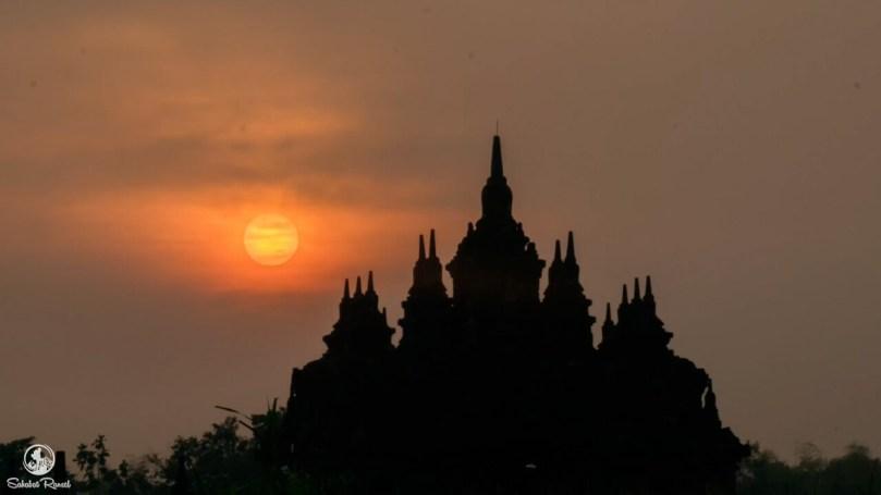 Sunrise Candi Plaosan