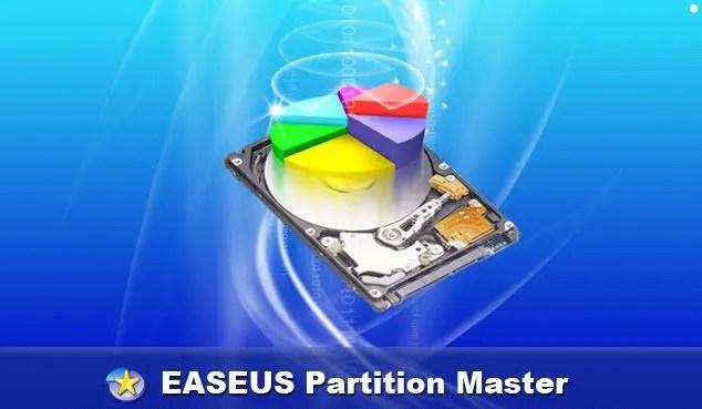 تعرف على بارتشن ماستر عربي easeus partition master