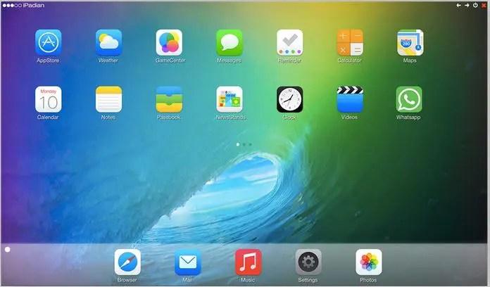 اعرف اكثر عن ipadian لمحاكاة برامج الايفون على الويندوز مجانا