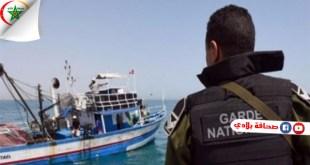 تونس : إحباط 3 عمليات اجتياز للحدود البحرية خلسة