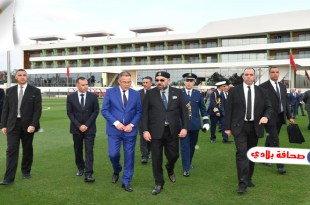 """العاهل المغربي يدشن """"مركب محمد السادس لكرة القدم"""""""