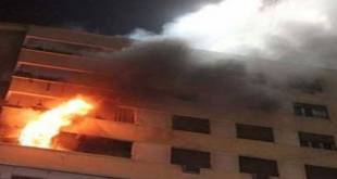 """مراكش: حريق مهول بحي""""أبواب مراكش"""" يخلق الرعب وسط الساكنة"""