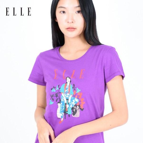 ELLE BOUTIQUE ELLE Amour Limited Edition T-SHIRT (W3K549)