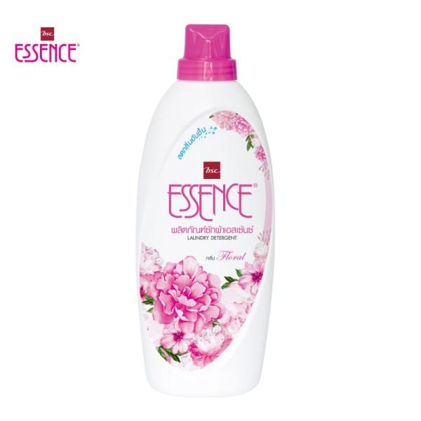 Essence essence ผลิตภัณฑ์ซักผ้าเอสเซ้นซ์ กลิ่นฟลอรัล 900 มล. (1 ลัง บรรจุ 12 ขวด)