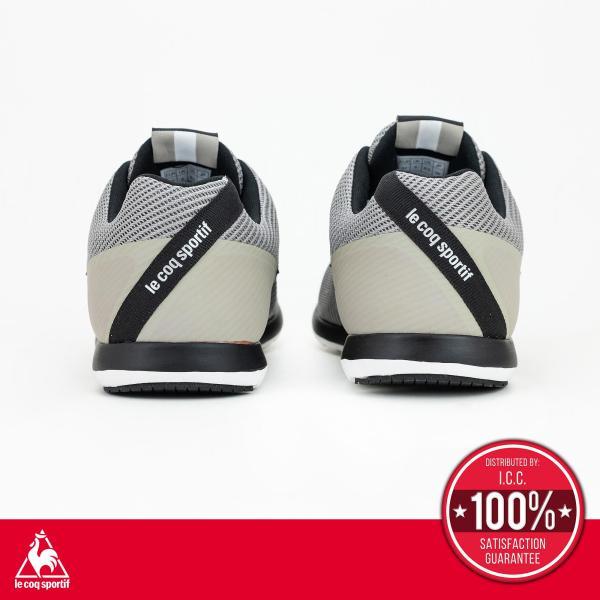 le coq sportif le coq sportif รองเท้าผู้ชาย รุ่น PAVE สีเทา รองเท้าผ้าใบสีเทา รองเท้าลำลอง
