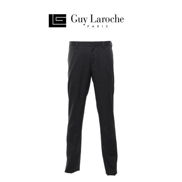 Guy laroche Guy LarocheกางเกงSlacksสีดำทรงslimfit รุ่นBSRSZP801BL