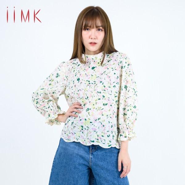 iiMK iiMK เสื้อ Apparels Ladies Blouse (WKB391)
