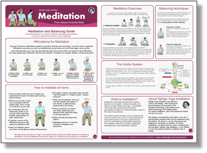 Meditation and Balancing Guide