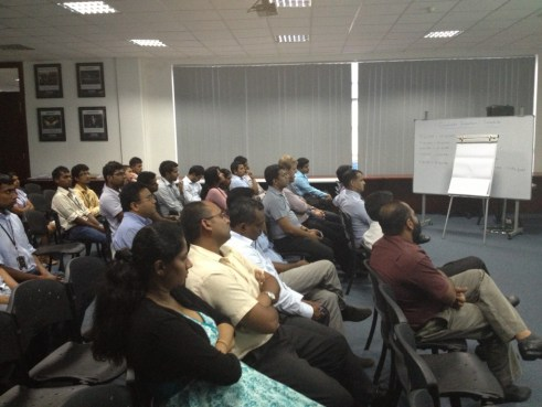 Attendees at the Sahana Meetup in Colombo