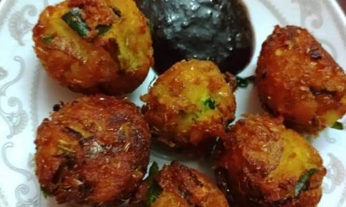 Sweet Corn Balls Recipe By Adhi Venkat