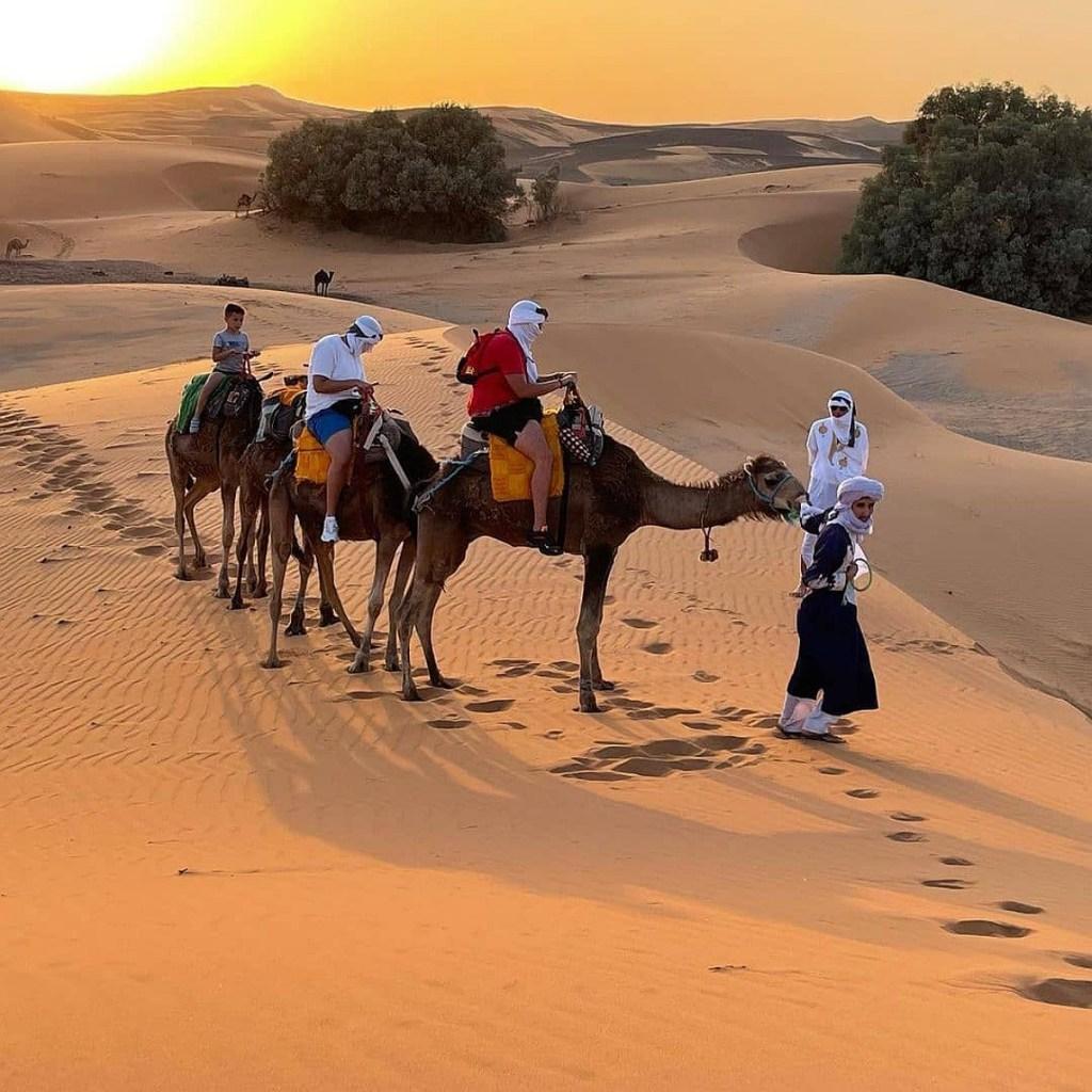 3 nights camel ride in Merzouga desert