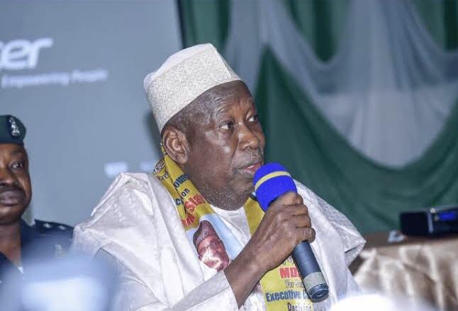 Kano Governor, Abdullahi Umar Ganduje.