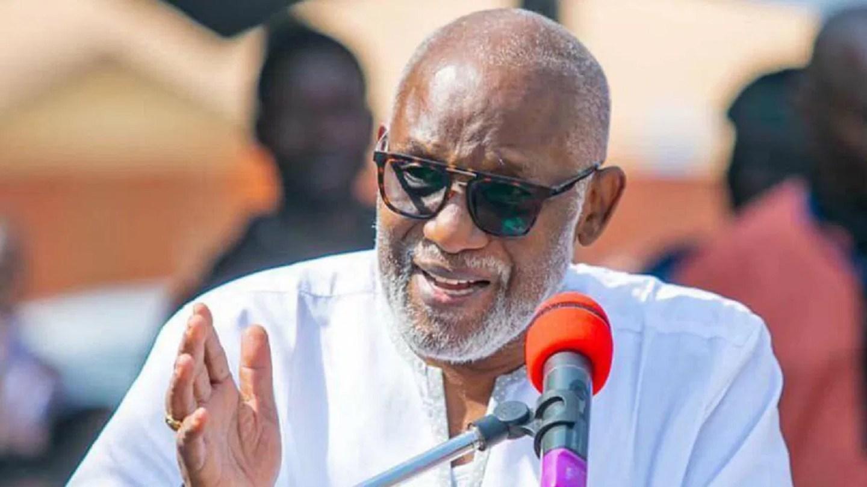 Ondo Governor Rotimi Akeredolu.