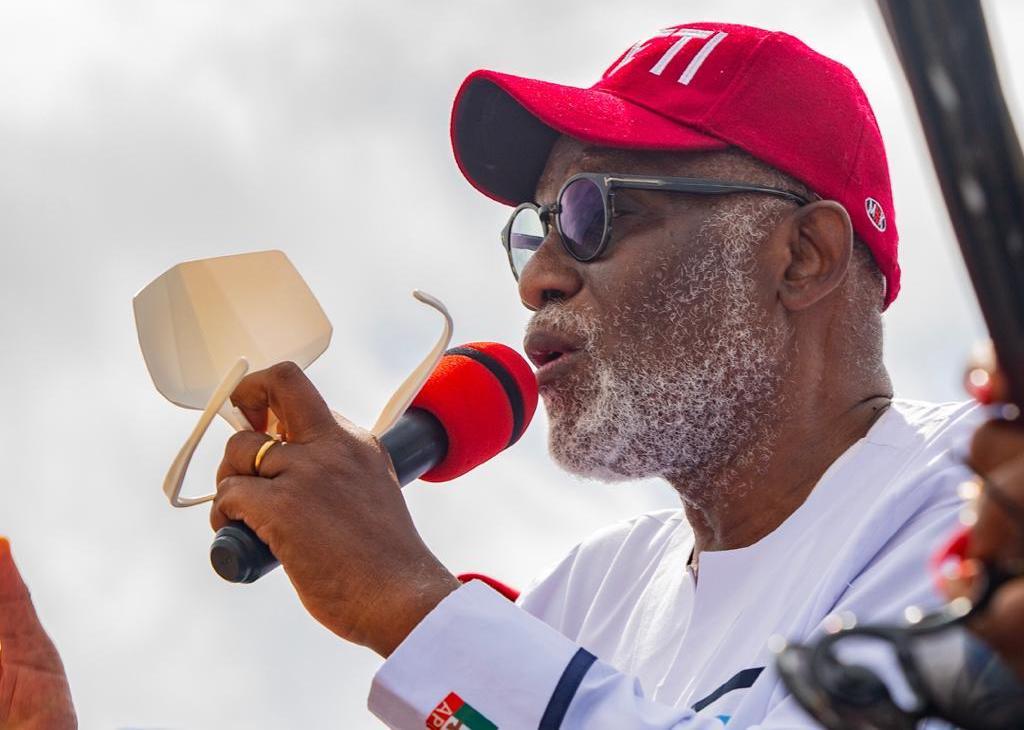 Ondo Governor Rotimi Akeredolu