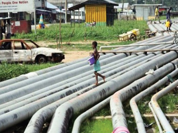 Oil Pipeline in Nigeria