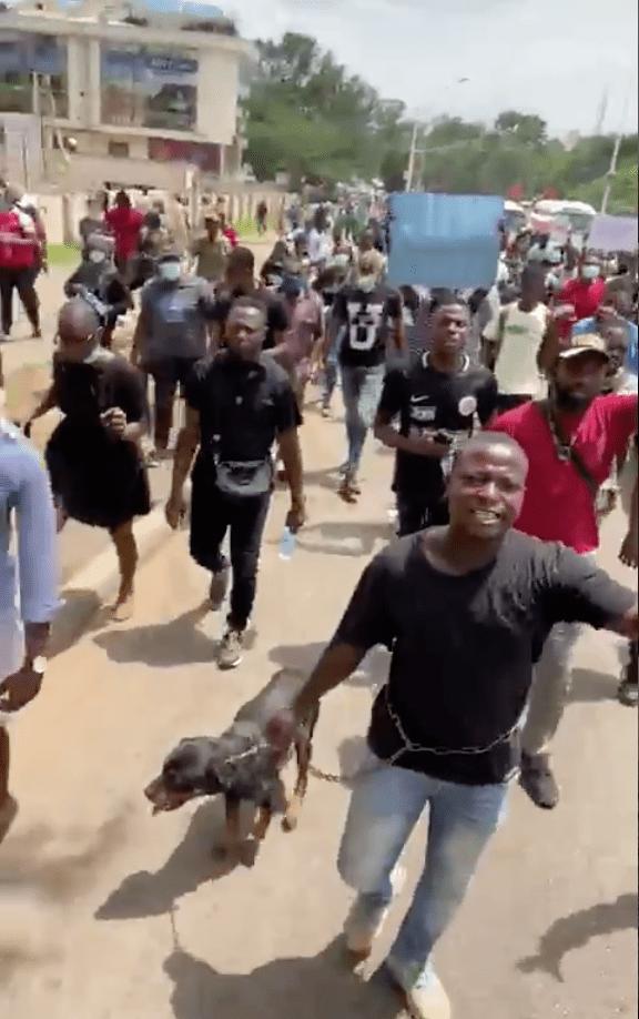 #EndSARS Protesters In Abuja