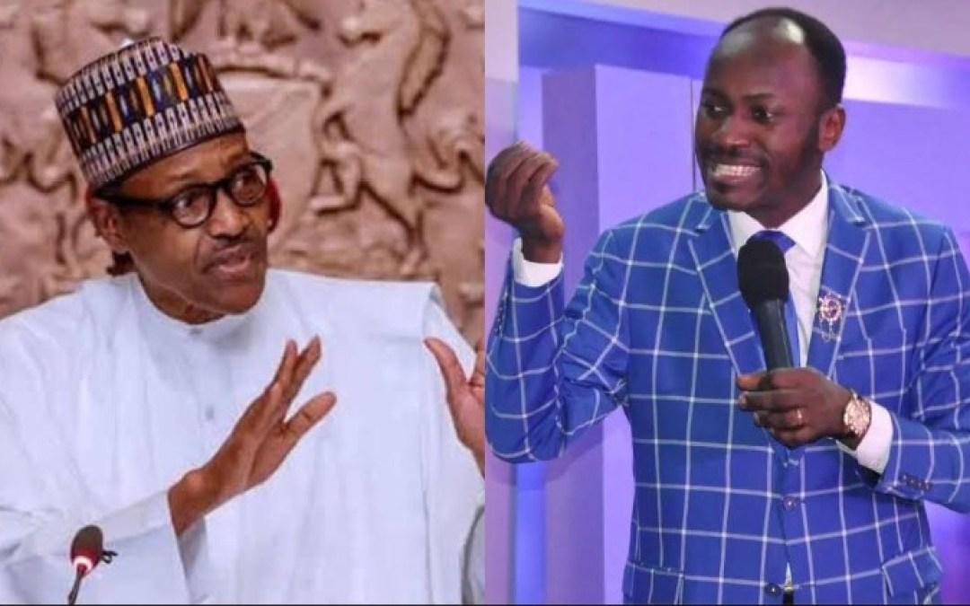 Apostle Suleman Warns Buhari, Threatens Him With God Over IPOB Treatment